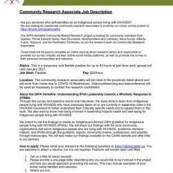 CAAN Job Opportunity