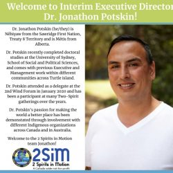 Welcome to our new Interim Executive Director!